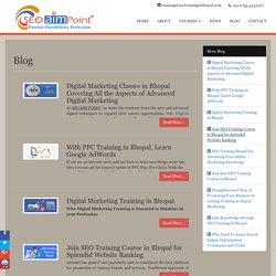 SEO AIM POINT: Leading Training Institute: Blog