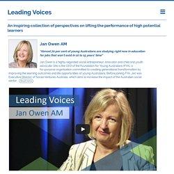 Leading Voices - Jan Owen AM