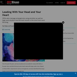 Leading With Your Head and Your Heart