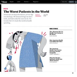 The U.S. Leads the World in Health-Care Spending