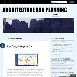 Architecture and Planning