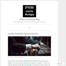Leaflet GeoJSON Feature Search – PNM Carto Design Blog