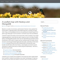 A Leaflet map with Node.js and MongoDB – denelius