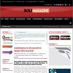 Leakedsource, le site qui met en danger votre vie privée - ZATAZ