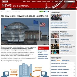 US spy leaks: How intelligence is gathered