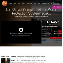 LeakSmart can sense floods and stop them in under 10 seconds