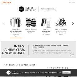 Lean Closet Movement