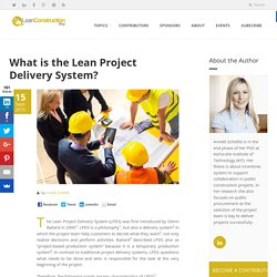 Lean Construction Blog