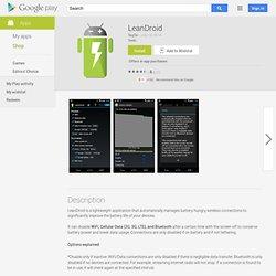 LeanDroid