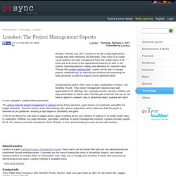 Leankor: The Project Management Experts