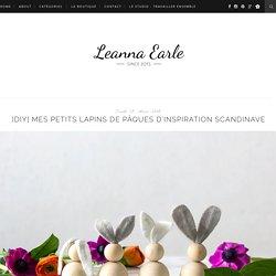 Mes petits lapins de Pâques d'inspiration scandinave