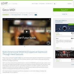 Leap Motion App Store