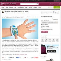 LeapBand : un bracelet santé pour les enfants