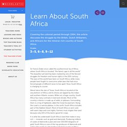 Learn About South Africa