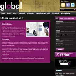 Learn more about the Global coursebooks