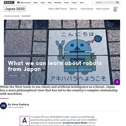 What we can learn about robots from Japan - BBC Future