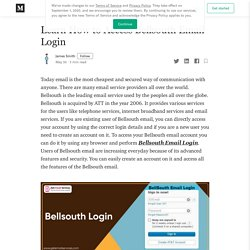 Learn How to Access Bellsouth Email Login - James Smith - Medium
