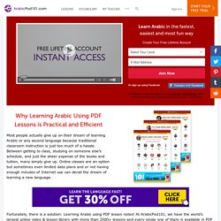 Learn Arabic Twice as Fast with PDF - ArabicPod101.com
