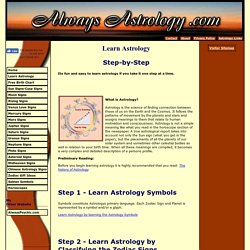 LEARN ASTROLOGY: Free Step-by-Step Lessons & Exams