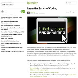 Learn the Basics of Coding