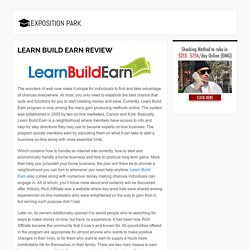 Learn Build Earn Review - Does it Really Work? Free Bonus