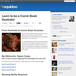 Learn to be a Comic Book Illustrator