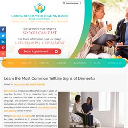 Learn the Most Common Telltale Signs of Dementia
