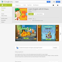 Learn English with El Chavo. - Android Apps on Google Play