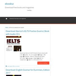 Learn English Archives - ebooksz