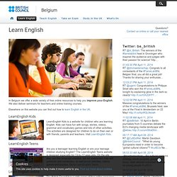 Blended Learning - Learning - British Council - Brussels