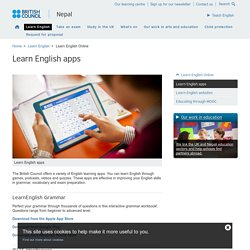 Learn English apps