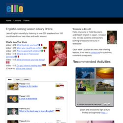 Learn English for Free with elllo!