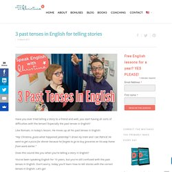 Learn English Grammar: Past tenses in English