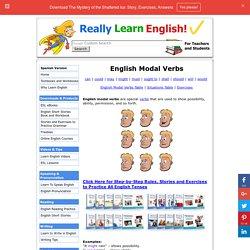 Learn English Modal Verbs