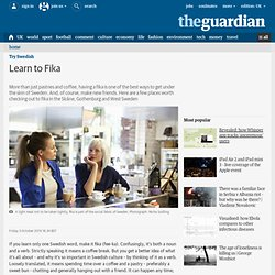 Learn to Fika