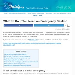 Learn How to Find an Emergency 24-hour Dentist Near You