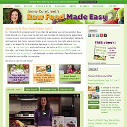 Learn Raw Food | Raw Food Made Easy with Jennifer Cornbleet