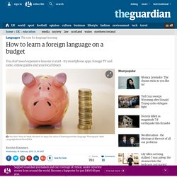 How to learn a foreign language on a budget