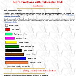 math worksheet : fractions  pearltrees : Cuisenaire Rods Fractions Worksheets