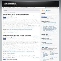 Learn FreeNAS » Tips