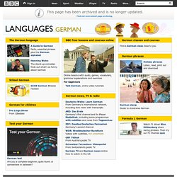 Languages - German: All you need to start learning German