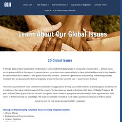 Learn About Our Global Issues
