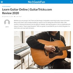 How To Learn Guitar Online - GuitarTricks.com Honest Review 2020