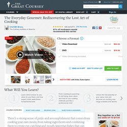 Learn How to Cook with The Great Courses