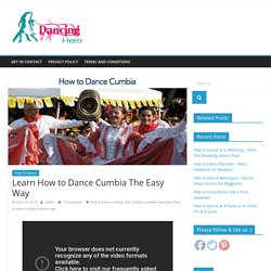 Learn How to Dance Cumbia The Easy Way