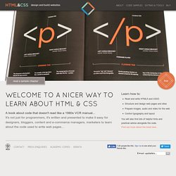 Learn HTML & CSS - a book that teaches you in a nicer way