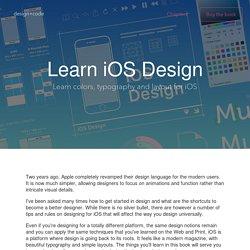 Learn iOS Design - Design+Code