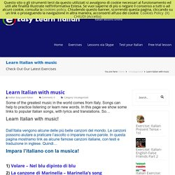 Learn Italian with music - Easy Learn Italian