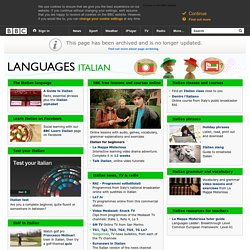 Languages - Italian: All you need to start learning Italian