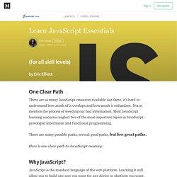 Learn JavaScript: — JavaScript Scene